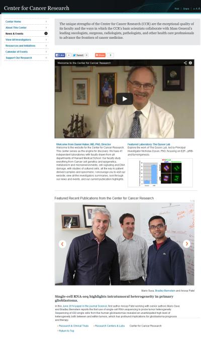 CfCR News Page